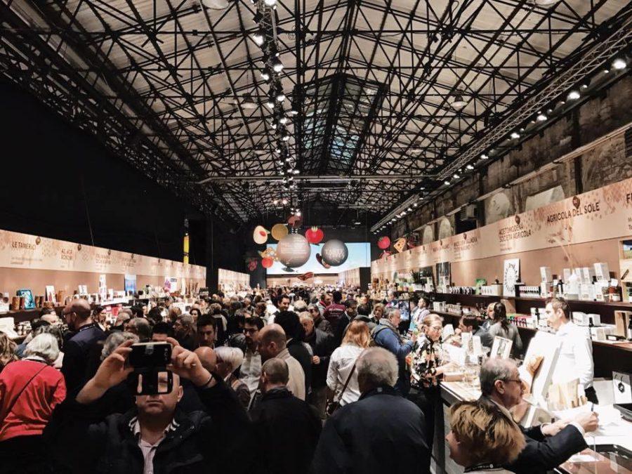 Посещение команды Montecchi Capuleti выставки PITTI TASTE