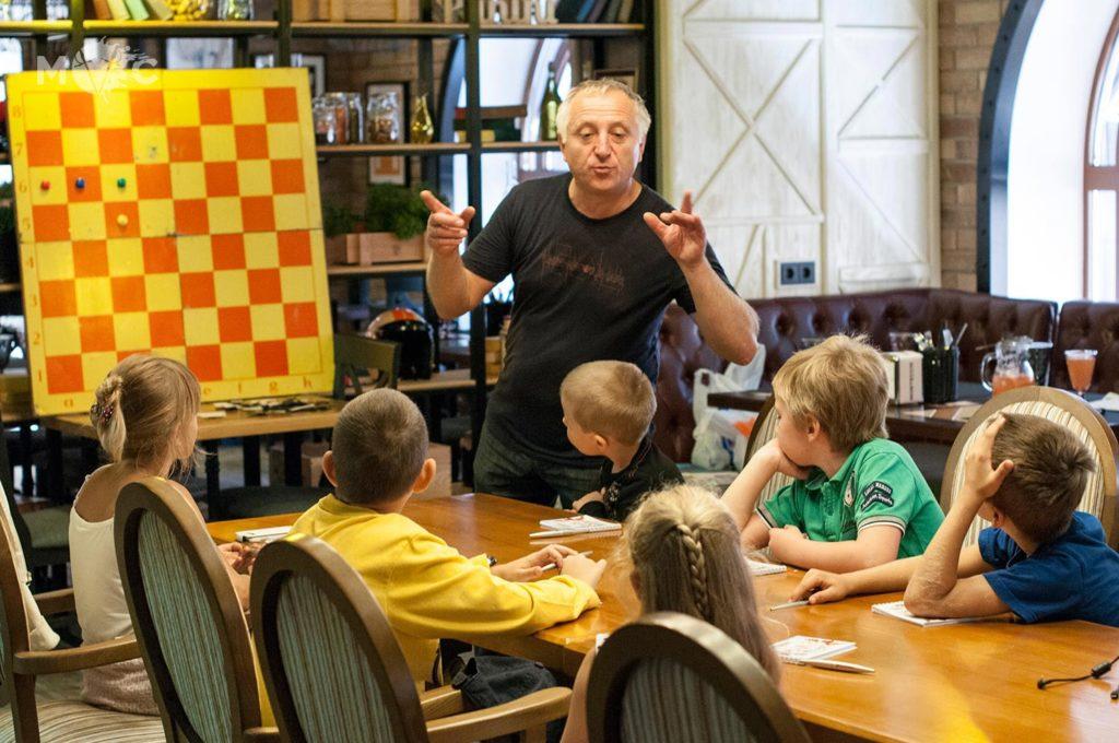 Детская Шахматная Школа в ресторане Монтекки Капулетти_30