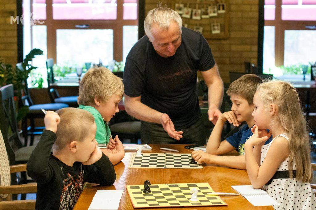 Детская Шахматная Школа в ресторане Монтекки Капулетти_29