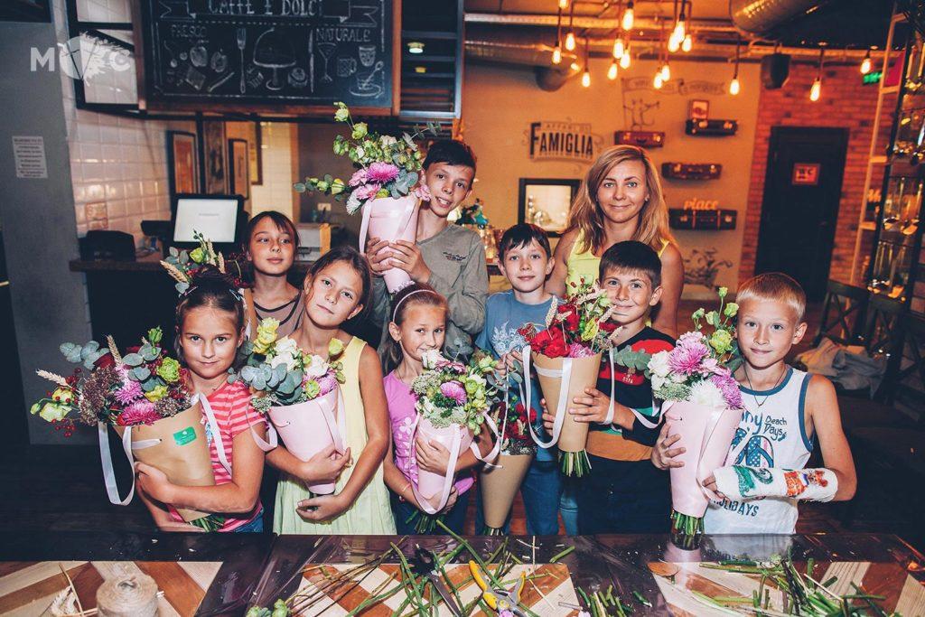 Детский День Рождения в ресторане Монтекки Капулетти_14