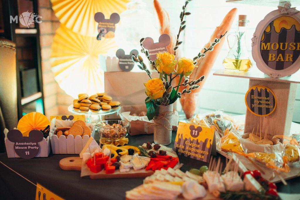 Детский День Рождения в ресторане Монтекки Капулетти_12