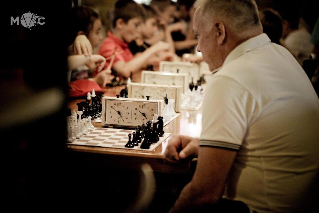Детская Шахматная Школа в ресторане Монтекки Капулетти_28