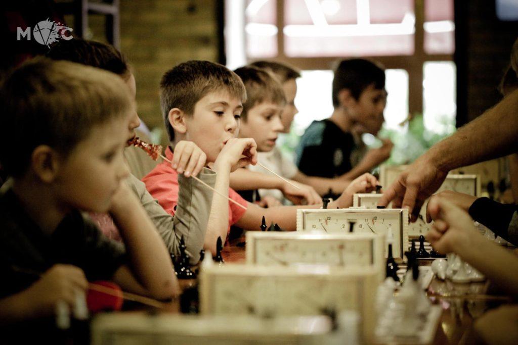 Детская Шахматная Школа в ресторане Монтекки Капулетти_27