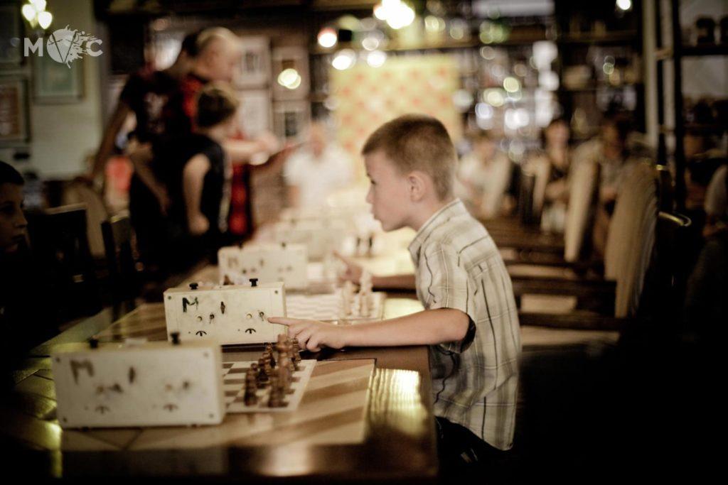 Детская Шахматная Школа в ресторане Монтекки Капулетти_23