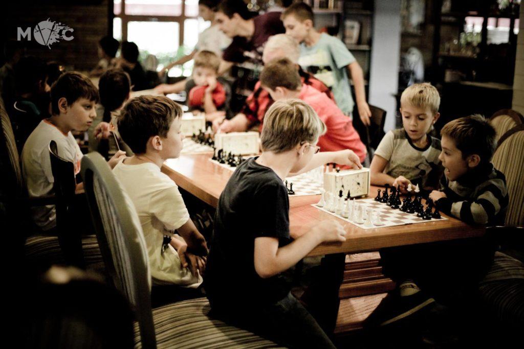 Детская Шахматная Школа в ресторане Монтекки Капулетти_22