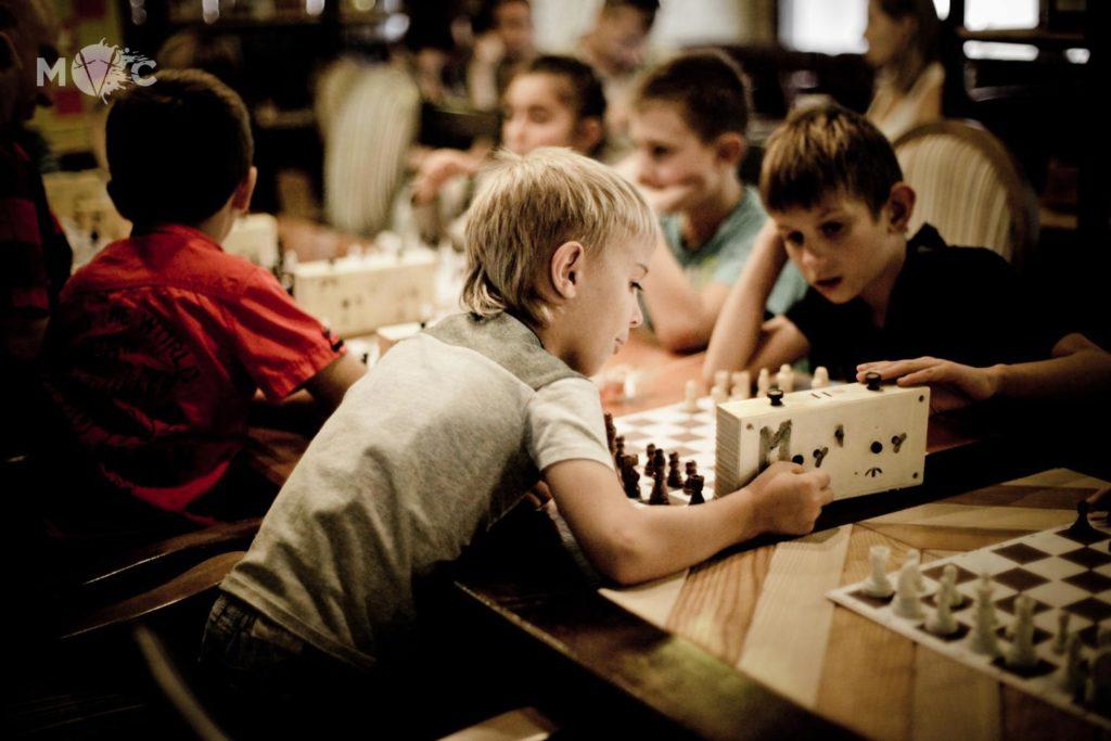 Детская Шахматная Школа в ресторане Монтекки Капулетти_21
