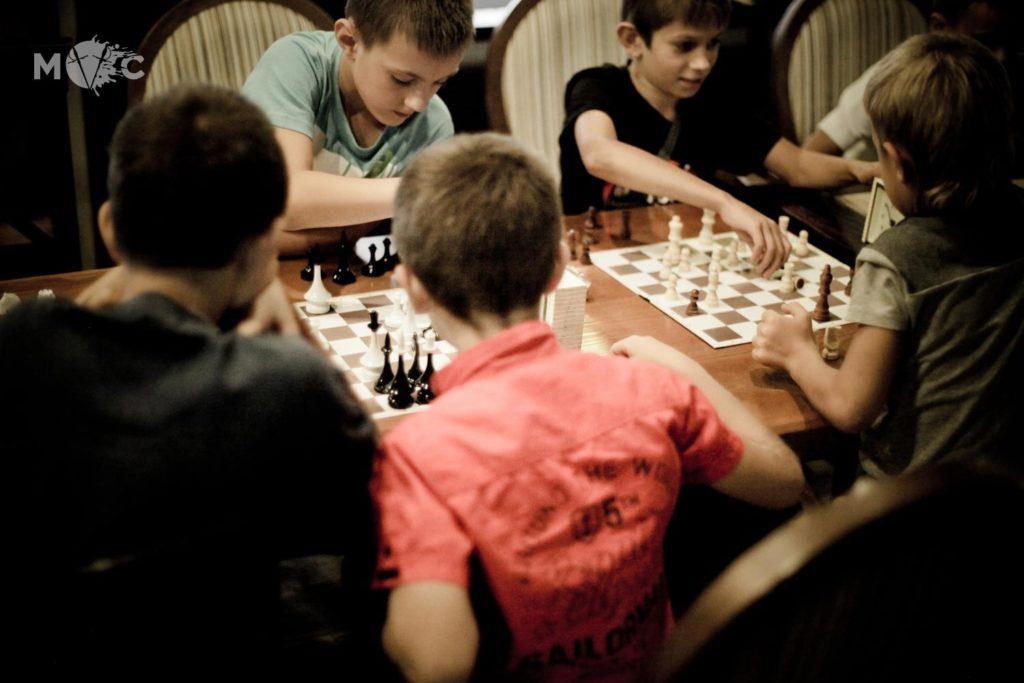 Детская Шахматная Школа в ресторане Монтекки Капулетти_19