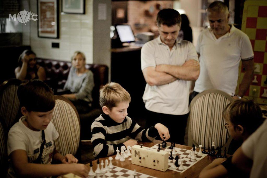 Детская Шахматная Школа в ресторане Монтекки Капулетти_18