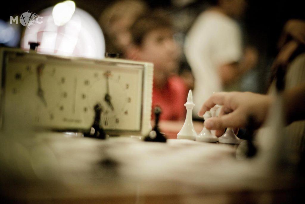 Детская Шахматная Школа в ресторане Монтекки Капулетти_17