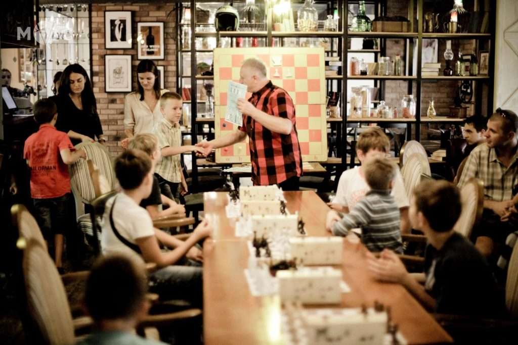 Детская Шахматная Школа в ресторане Монтекки Капулетти_15