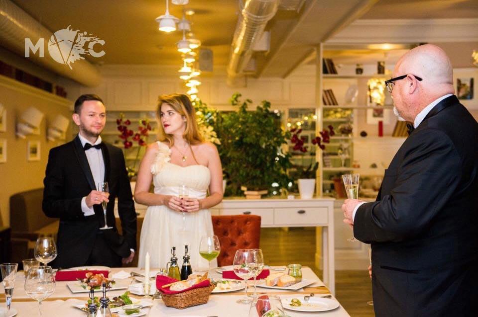 Свадьба в ресторане Монтекки Капулетти (2)